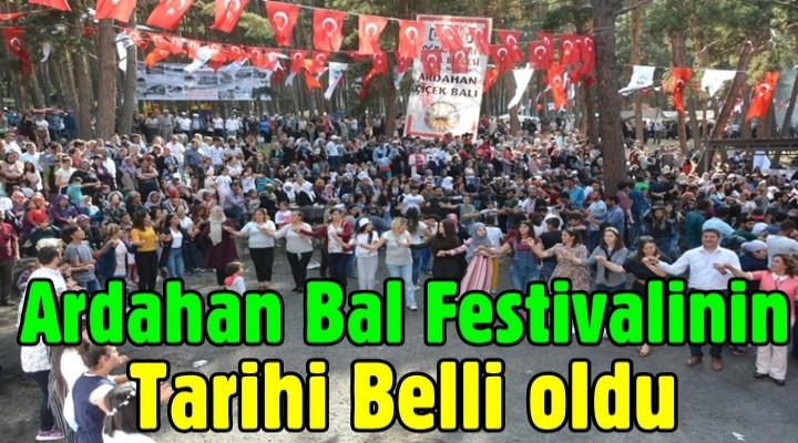 Ardahan Bal Festivalinin Tarihi Belli oldu