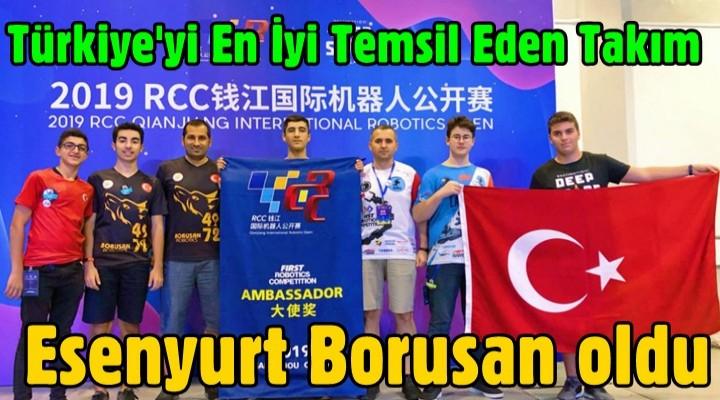 Türkiye'yi En İyi Temsil Eden Takım Esenyurt Borusan oldu