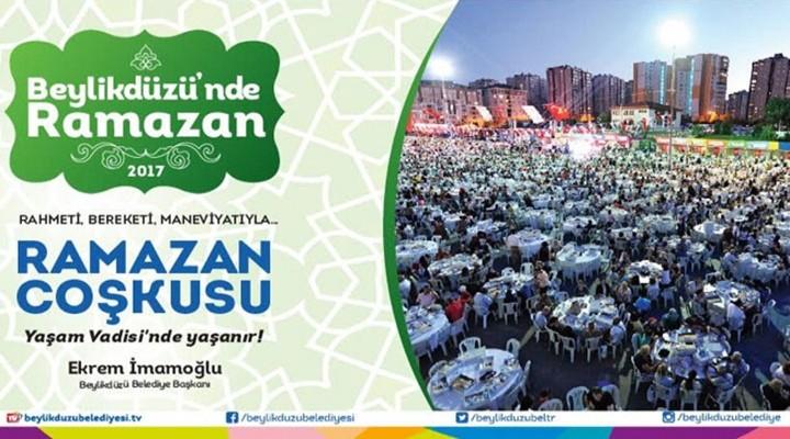 Ramazan, Beylikdüzü'nde dolu dolu geçecek