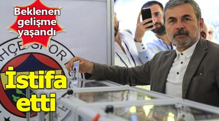 Aykut Kocaman istifasını verdi