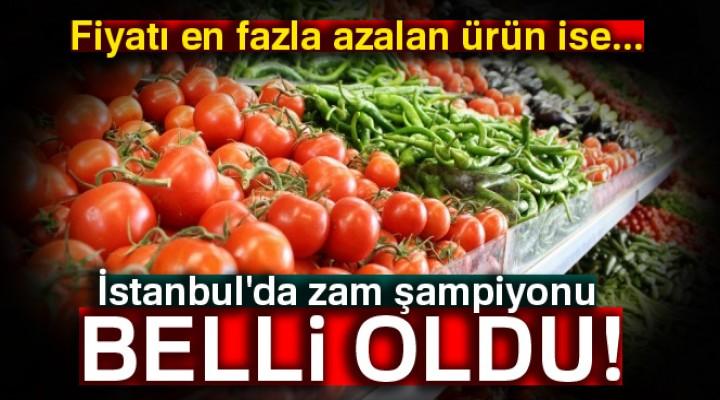 İstanbul'un zam şampiyonu