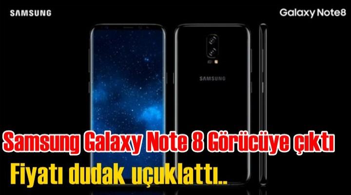 İşte Samsung Galaxy Note 8