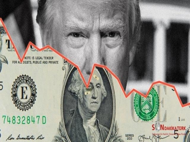 Trump'ın Tweet attı dolar fırladı!
