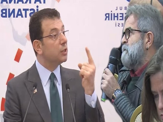 ''Muhalefet lideri gibi davranıyorsunuz'' diyen gazeteciye İmamoğlu'nun yanıtı alkış aldı