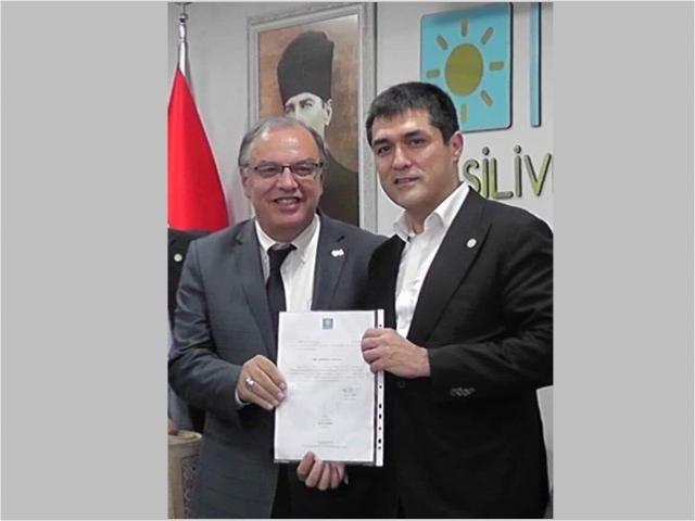 Silivri'de İYİ Parti'nin Yeni Başkanı A. Refik Bek oldu