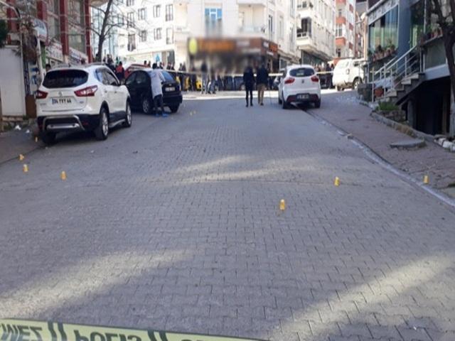 Esenyurt'ta iki grup arasında silahlı çatışma