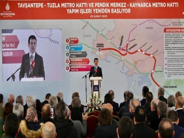 İmamoğlu'undan Esenyurt Metrosu hakkında açıklama