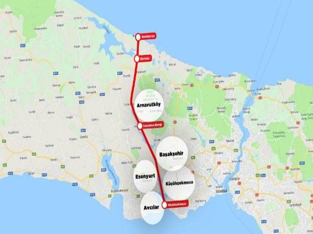 Kanal İstanbul projesinin ilk temeli atıldı