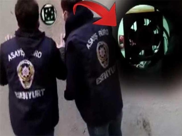Gizli Bölüm Polisin Gözünden Kaçmadı