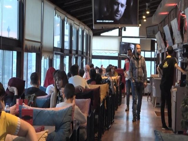 Esenyurt'ta 'sosyal mesafe'ye uyulmayan kafe mühürlendi