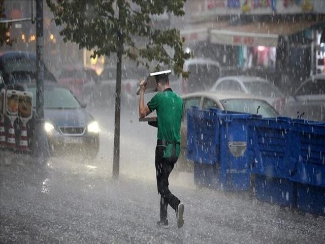 Meteorolojiden kuvvetli yağış ve dolu uyarısı