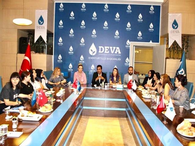 DEVA Esenyurt teşkilatlanma çalışmalarına hız verdi