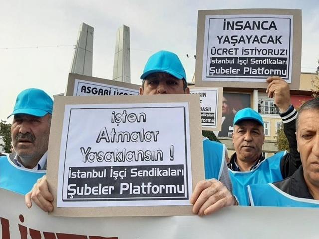 İstanbul İşçi Sendikaları Şubeler Platformu: Bütün mültecilere çalışma izni hakkı tanınmalıdır!