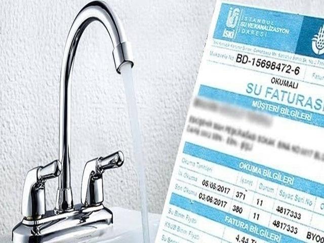 İstanbul'da suya yüzde 15.62 zam yapıldı