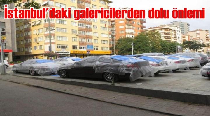 İstanbul'daki galericilerden dolu önlemi