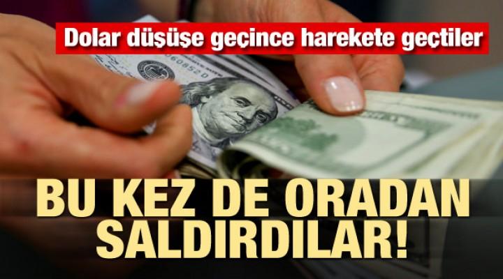 Dolar düşüşe geçince saldırdılar! Skandal Türkiye kararı