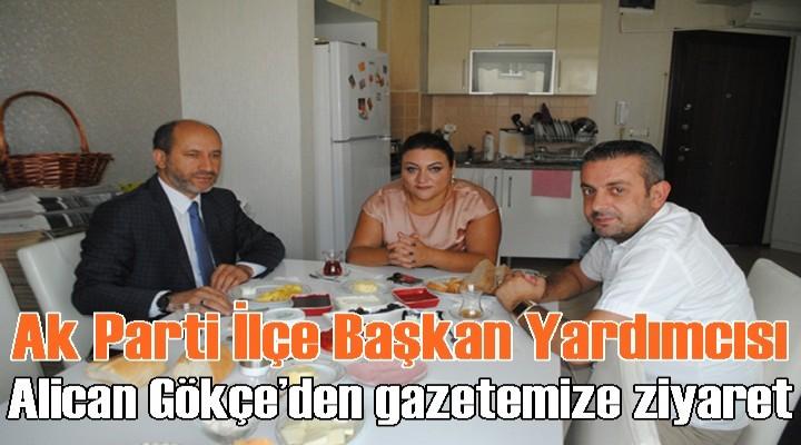 Alican Gökçe'den gazetemize ziyaret