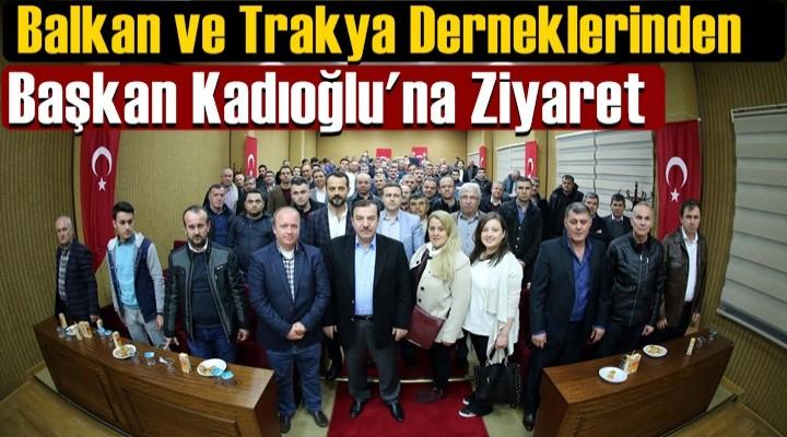 Dernek Yöneticilerinden Kadıoğlu'na ziyaret