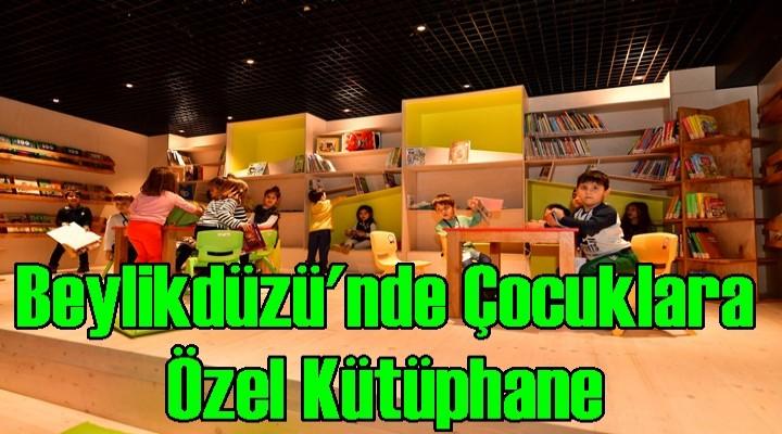 Beylikdüzü'nde Çocuklara Özel Kütüphane