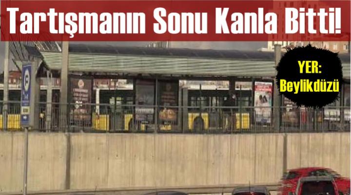 Beylikdüzü metrobüs durağı yakınında silahlı saldırı