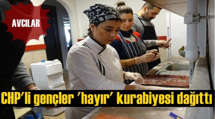CHP'li Gençlerden İşe Gidenler İçin 'Hayırlı Kurabiye'