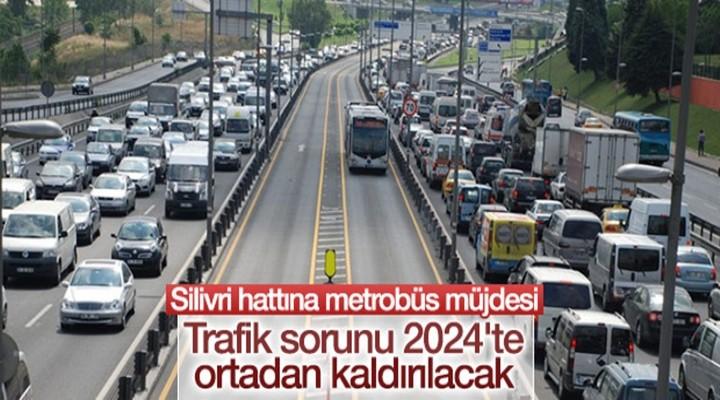 Büyükçekmece Silivri hattına metrobüs müjdesi