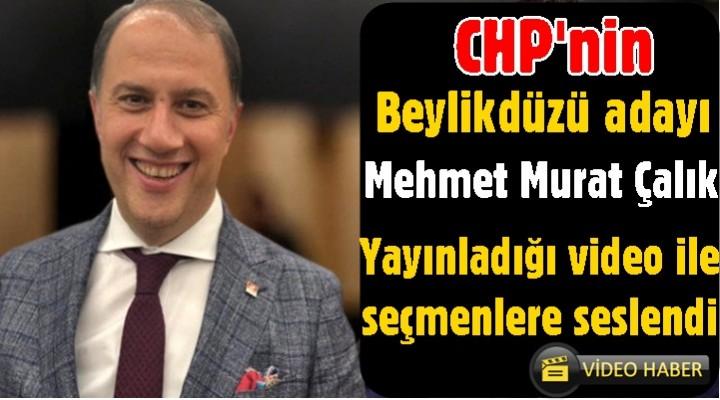 Mehmet Murat Çalık Beylikdüzü için çalışmaya başladı