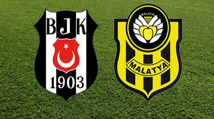 Beşiktaş-Malatyaspor maçı ilk 11'leri belli oldu