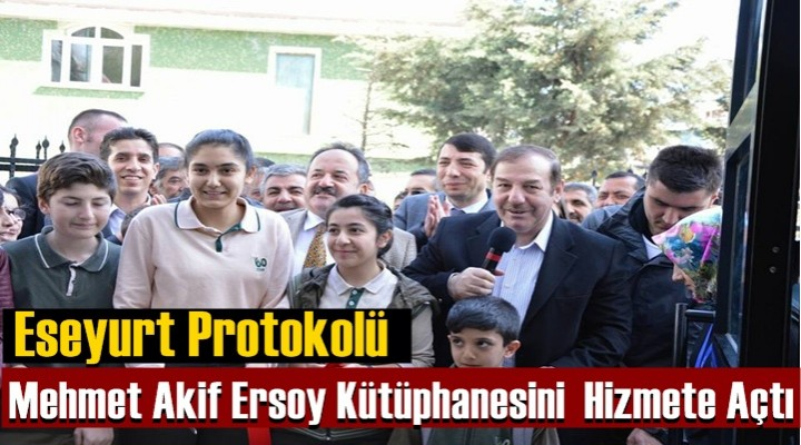 Mehmet Akif Ersoy Kütüphanesi  Hizmete Açıldı