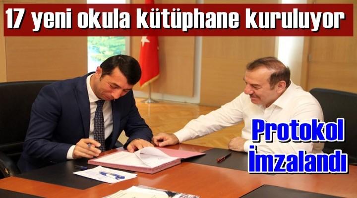 Yeni Kütüphaneler için protokol imzalandı