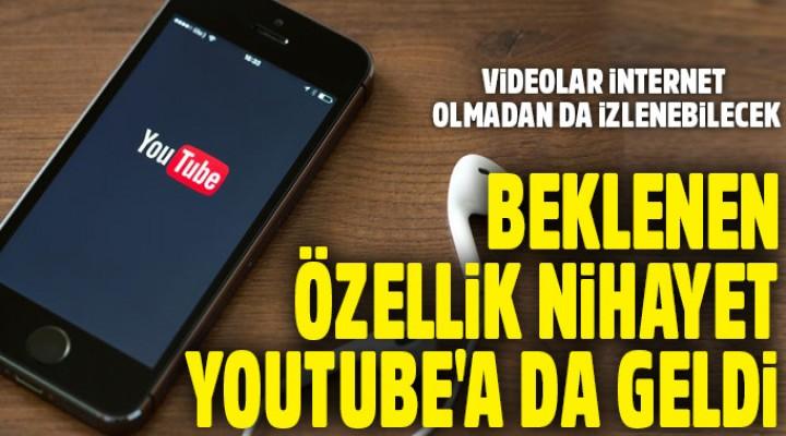 YouTube'da yeni özellik
