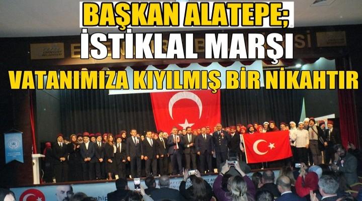 İstiklal Marşı ve Mehmet Akif Esenyurt'ta Anıldı