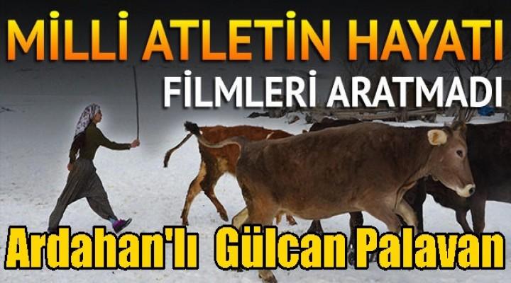 Ardahan'da Milli atletin film gibi hayatı