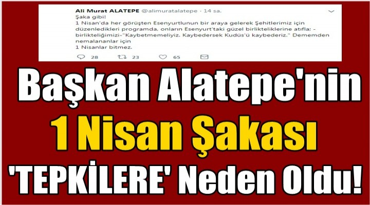 Başkan Alatepe'nin  Manidar Açıklaması Tepkilere neden oldu