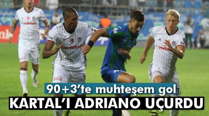 Çaykur Rizespor: 0 Beşiktaş: 1