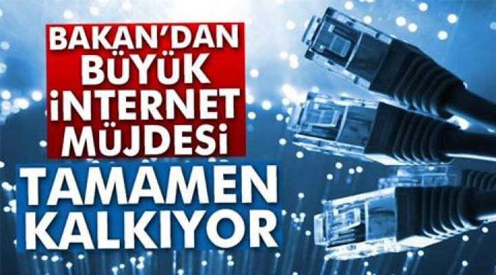Bakan'dan büyük internet müjdesi!