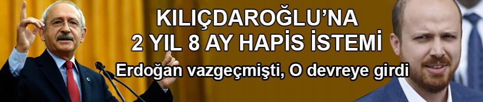 Kılıçdaroğlu'na 2 yıl 8 aya kadar hapis istemi