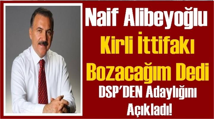 Alibeyoğlu Kars'ta DSP'den Aday olacak