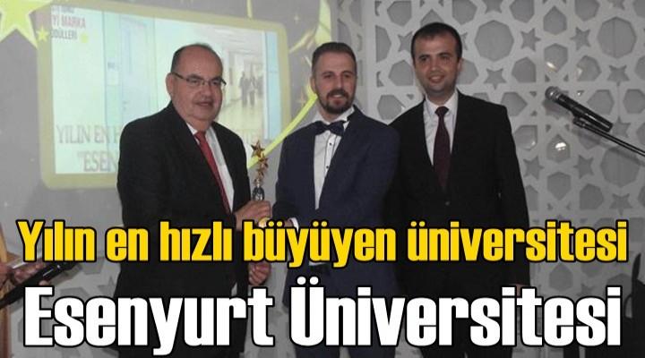 Yılın en hızlı büyüyen üniversitesi Esenyurt Üniversitesi