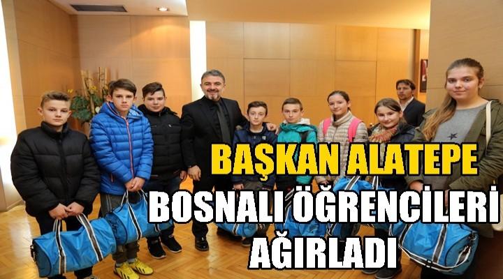 Bosnalı Öğrencilerden Alatepe'ye Ziyaret