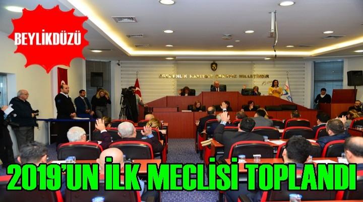 Beylikdüzü Belediyesi 2019'un İlk Meclis Toplantısını Gerçekleştirdi