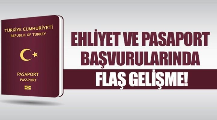 Emniyet Genel Müdürlüğü'nden flaş ehliyet ve pasaport açıklaması