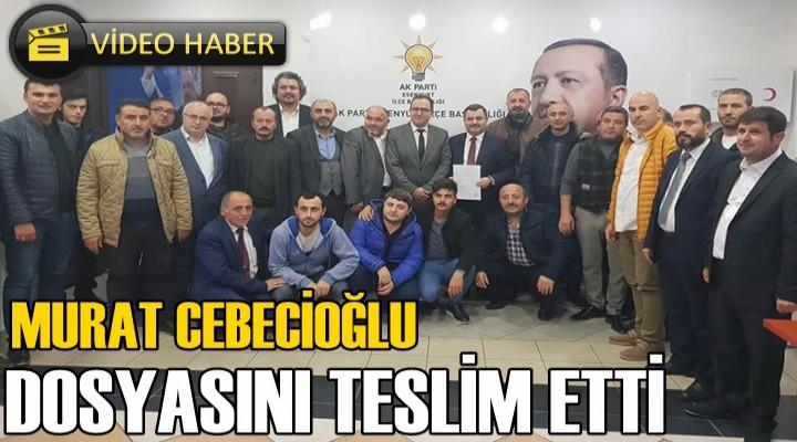 Murat Cebecioğlu Esenyurt Belediye Başkan Aday Adayı oldu