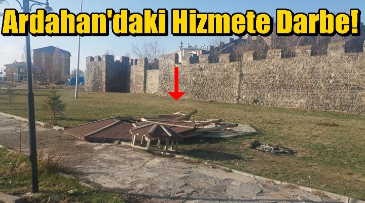 Ardahan'daki Hizmete Darbe!