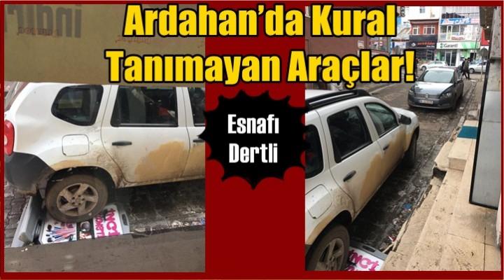 Ardahan'da Kural tanımayan Araçlar!
