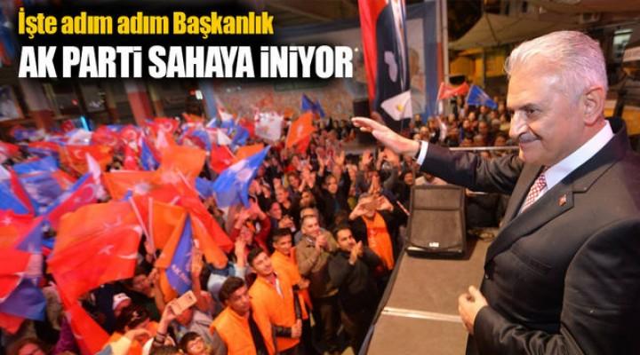 AK Parti anayasa için sahaya iniyor!