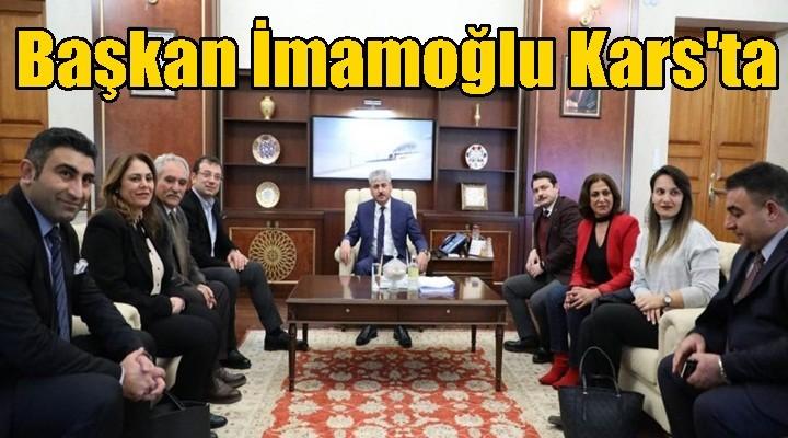 Beylikdüzü Belediye Başkanı Kars'ta
