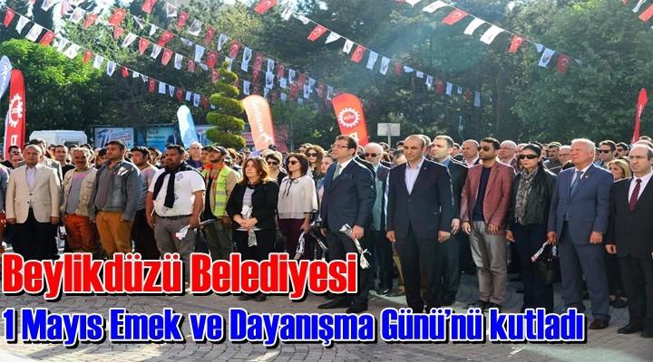 Beylikdüzü Belediye işçileri 1 Mayıs'ı kutladı