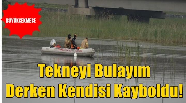 Büyükçekmece Gölü'nde kaybolan kişi kurtarıldı