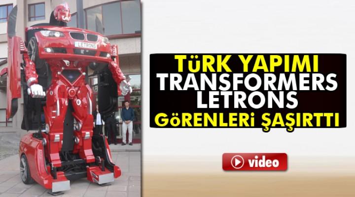 İşte yerli Transformers Letrons'lar